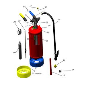 extincteur eau additif 6 litres prix devis achat achetez installation obligation. Black Bedroom Furniture Sets. Home Design Ideas