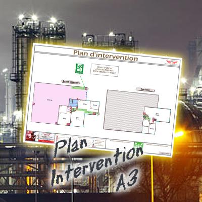 Plan intervention sans cadre format a3 standard plan - Cadre format a3 ...