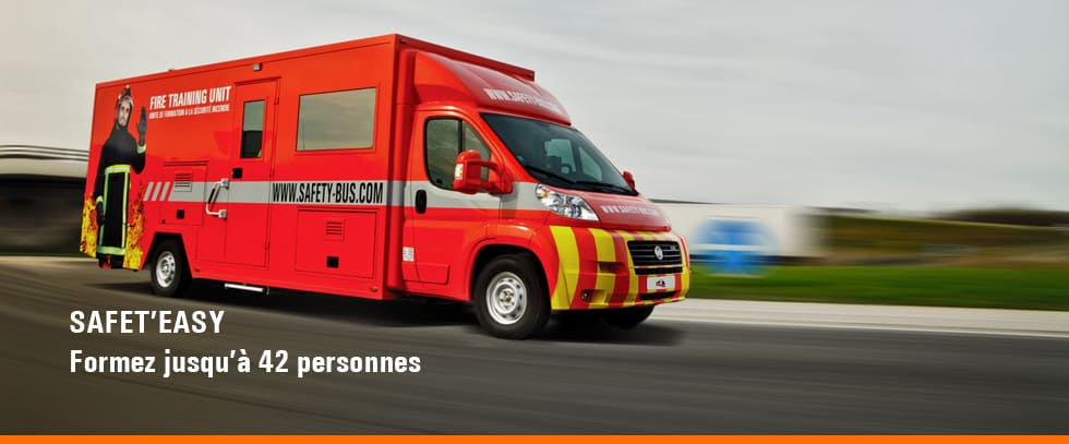 Safet'easy camion incendie - CAMION FORMATION INCENDIE SAFET'EASY