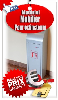 Mobilier extincteur  design