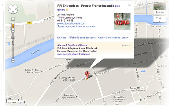 Coordonnées ! PROTECT FRANCE INCENDIE