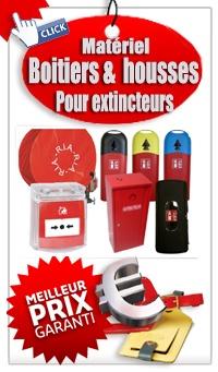 Ou acheter un extincteur Boitiers &  housses de protection