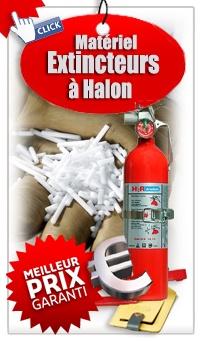 Ou acheter un extincteur  Extincteur à Halon - hydro/ halogéné