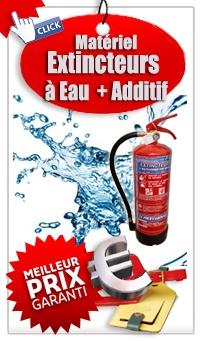 Ou acheter un extincteur Extincteur à eau pulvérisée avec additif