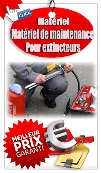 Ou acheter un extincteur Matériel de maintenance extincteur